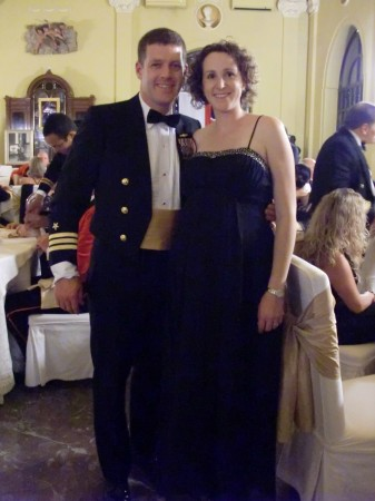 Bo and I at Trafalgar Night